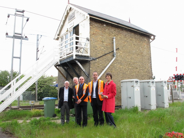 May 2012: Tour of Foxton Signal Box
