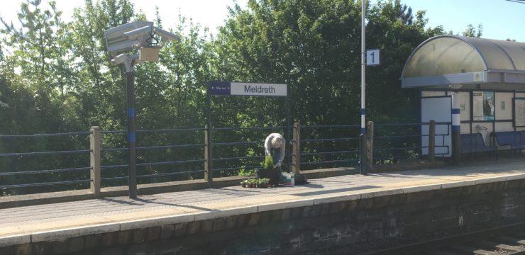 Meldreth Station Gardening May 2018