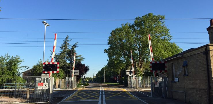 Addressing potential Safety Hazards around Shepreth Level Crossing