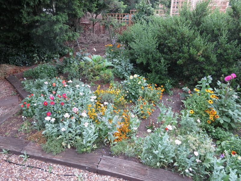 Meldreth Station garden