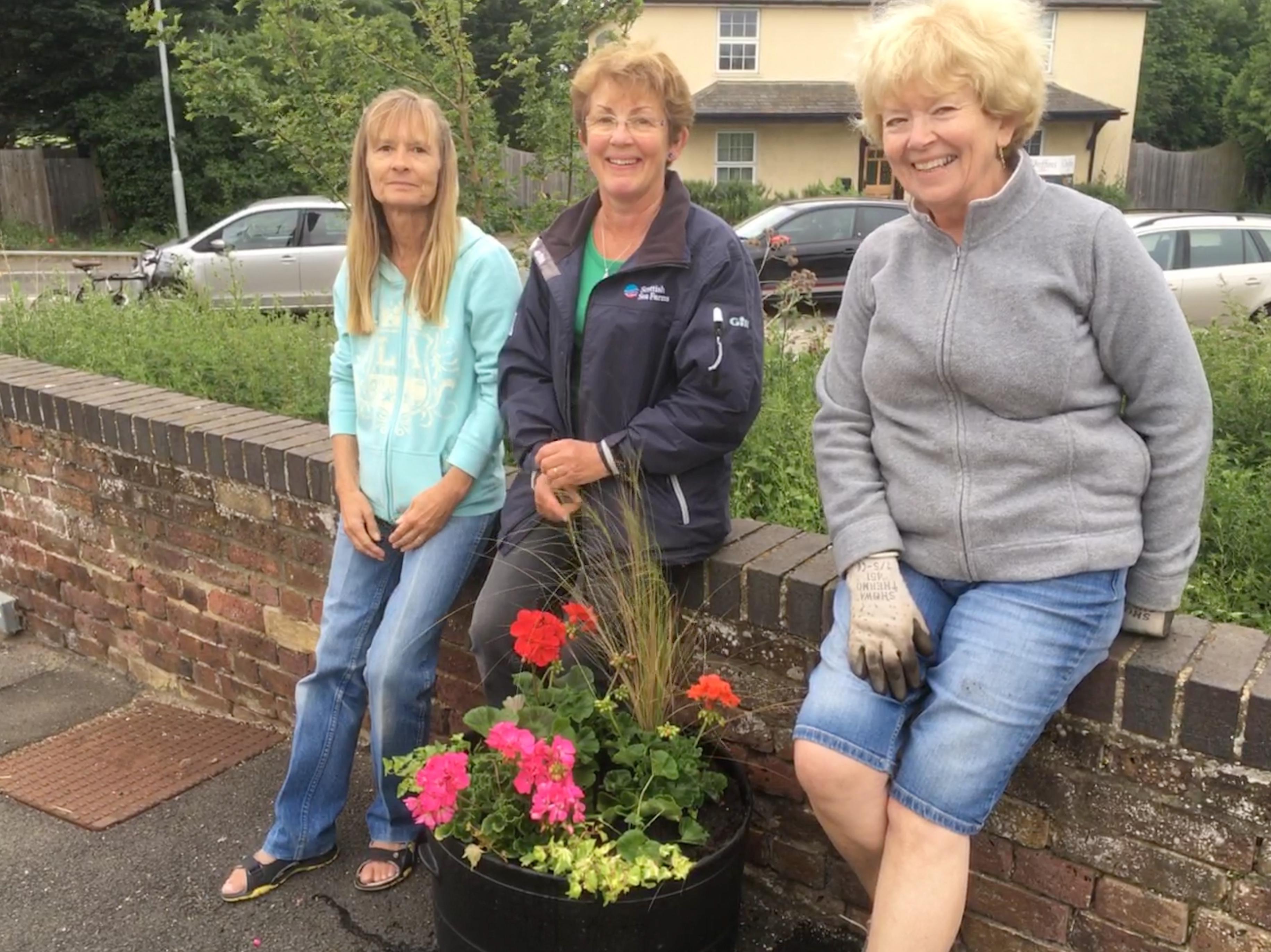 Foxton Station Gardening Team
