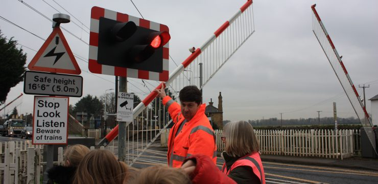 Safety at Foxton is fun for young travel ambassadors
