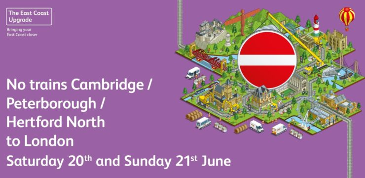 Engineering Works, East Coast Main Line 20th/21st June